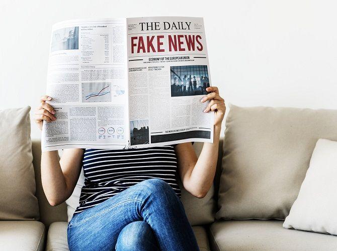 Facebook etiquette - Fake News