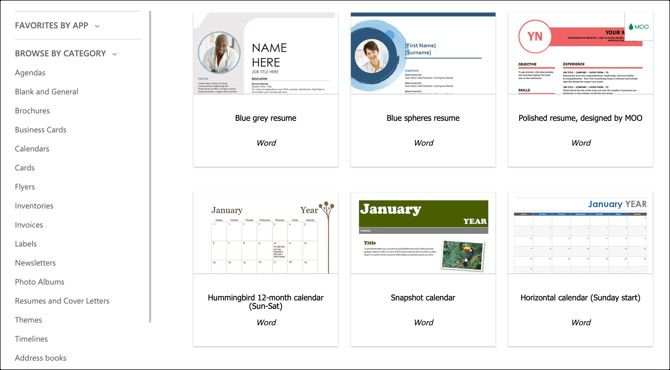 Top 6 Sites To Download Microsoft Word Templates
