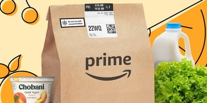 Amazon Fresh Is Now Free on Amazon Prime