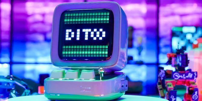 The Cutest Speaker You've Ever Seen: Divoom Ditoo