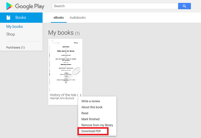 get books from google books for free