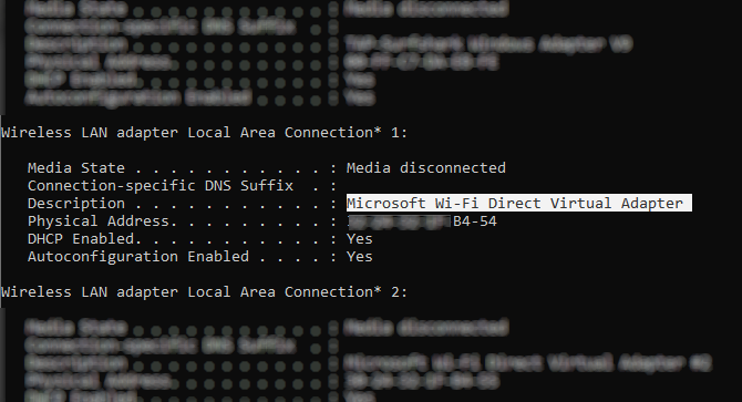 Check for Wi-Fi Direct compatibility in Windows 10