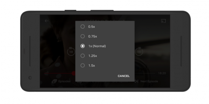 Netflix Is Testing Variable Playback Speeds