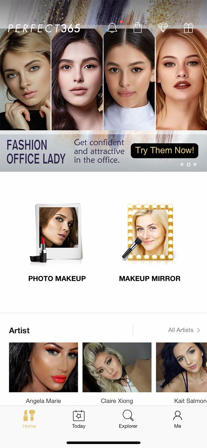 6 Apps for a Virtual Makeover