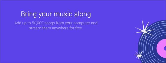 Google Play Music free tier explanation