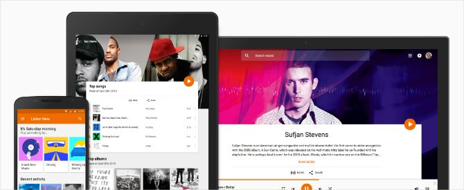 Google Play Music on multiple different devices