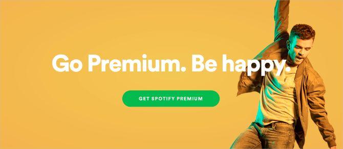 Spotify Premium header image