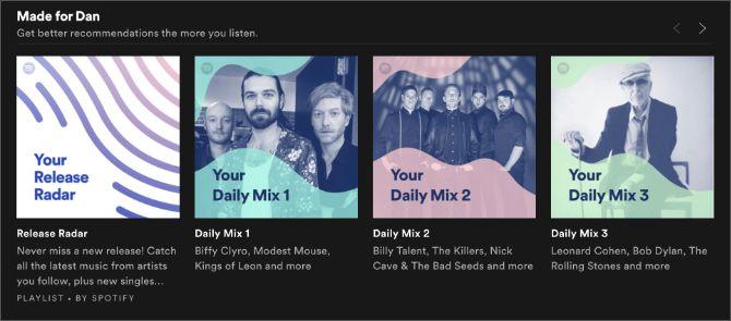Spotify discovery playlists