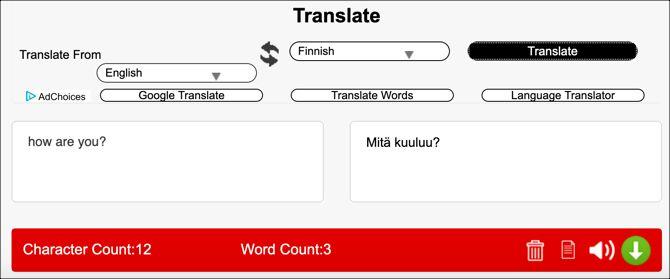 Translate безкоштовний перекладач онлайн