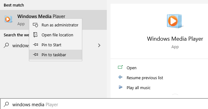 Windows Pin to Taskbar