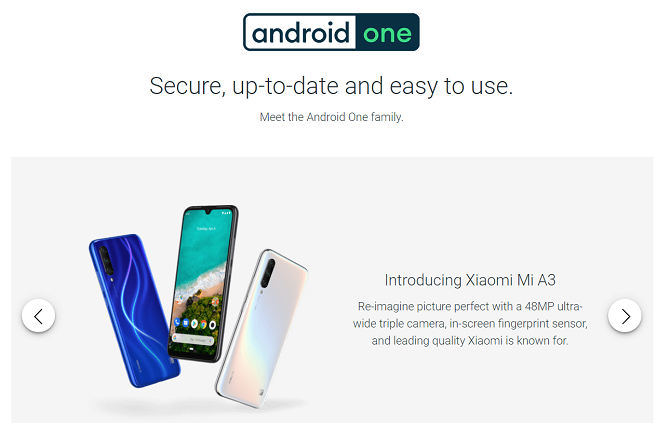 android one stock android smartphones