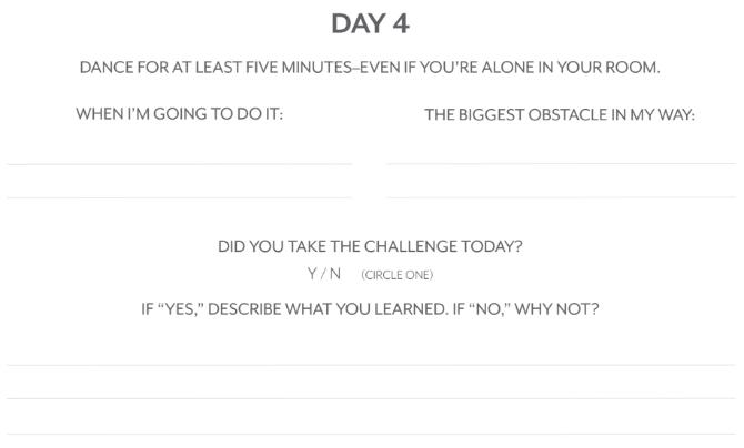 Mel Robbins' 50-day confidence challenge