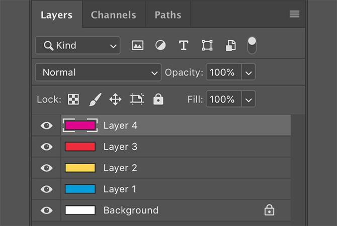 Edit Image Layers in Photoshop