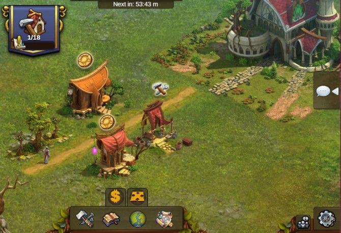 Elvenar متصفح لعبة استراتيجية