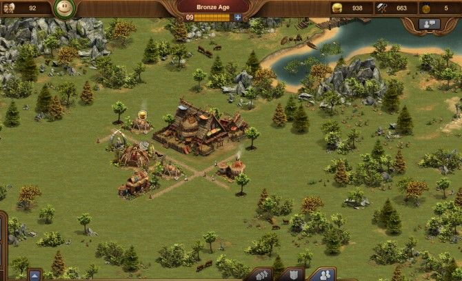 صياغة لعبة استراتيجية الامبراطوريات للمتصفح