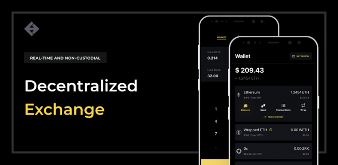 UDEX: A New Decentralized Crypto Exchange for Your Phone