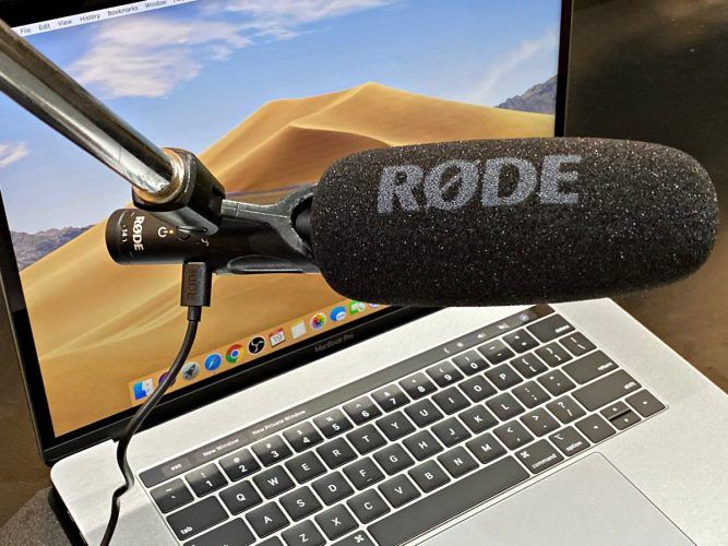 rode videomic ntg review nick teh mic used as audio input podcasting
