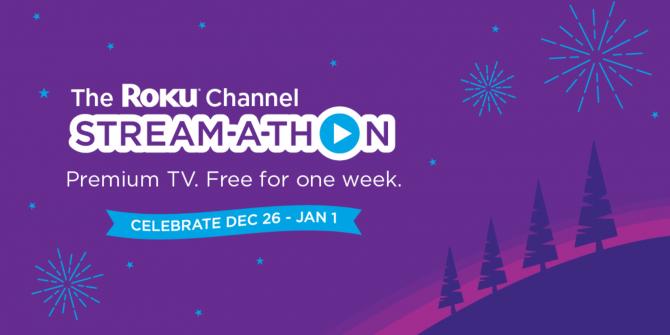 Roku's Stream-a-thon Offers Free Premium TV
