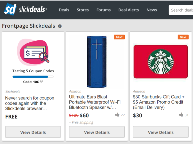 Top 14 Sites For Online Coupons Promotional Codes Makeuseof