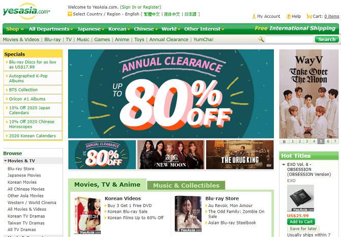 uk shopping sites with free international shipping