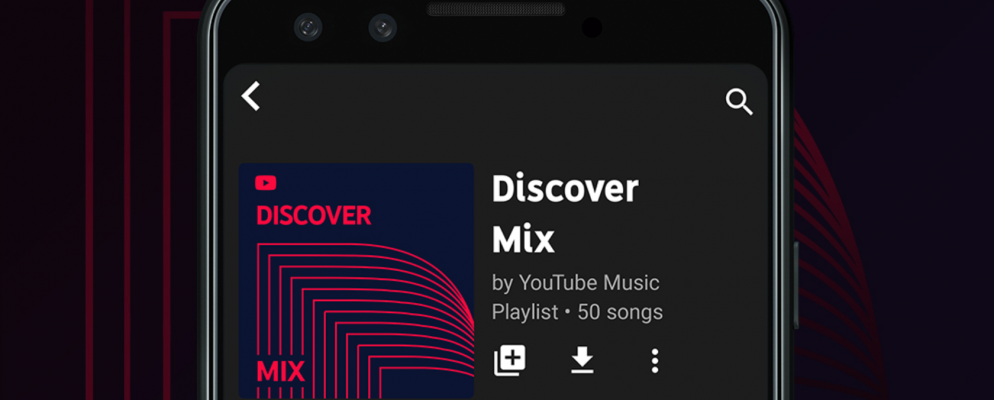 YouTube Music Launches Personalized Playlists