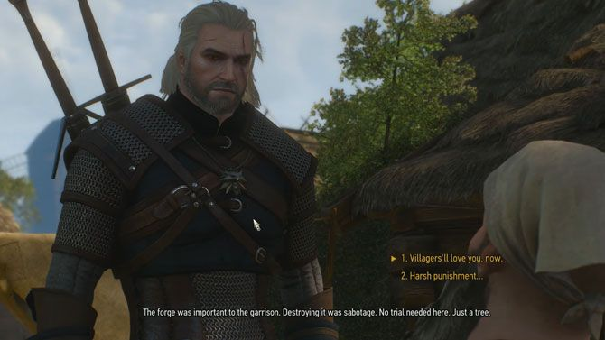 The Witcher 3 tips - dialogue consequences