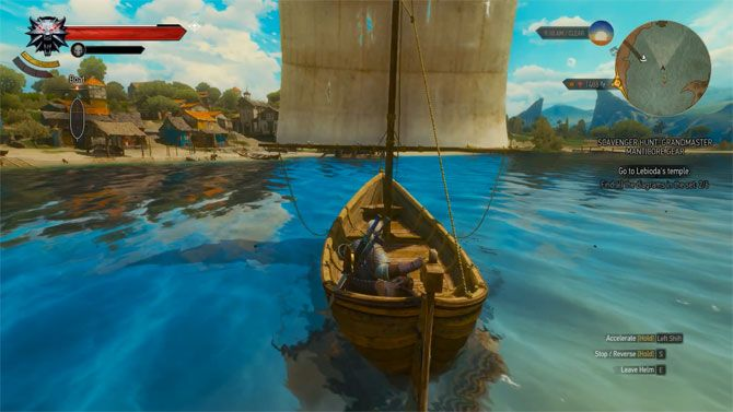 witcher 3 boat for fast travel
