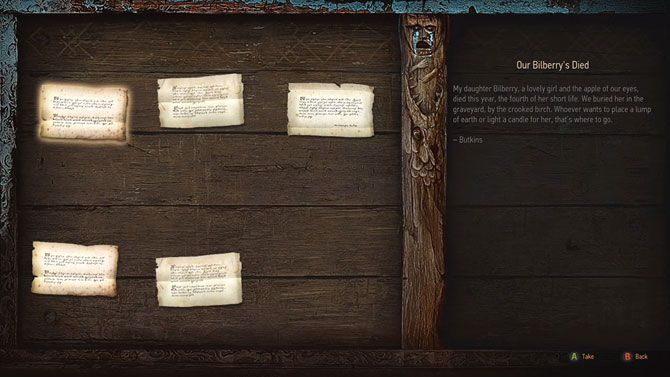 The Witcher 3 tips - notice board offering quests