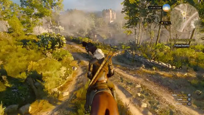 The Witcher 3 tips - staying on the road