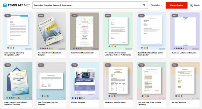 Top Sites To Find Templates For Apple Pages And Numbers
