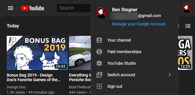 يوتيوب افتح يوتيوب ستوديو