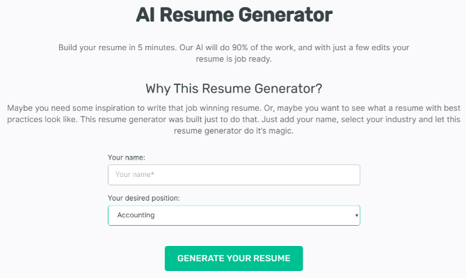5 Free Cv Apps To Create A Beautiful Resume That Recruiters Will Read