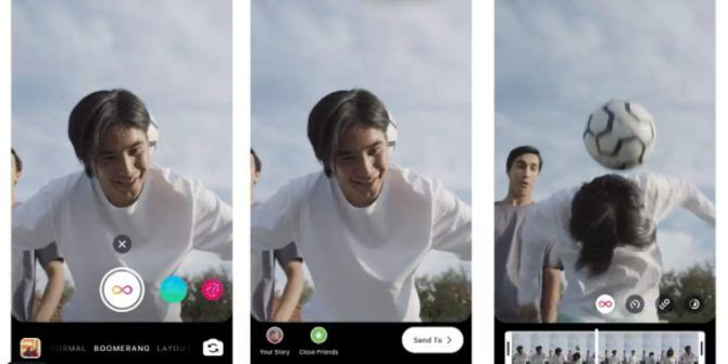 Instagram Adds New Boomerang Effects
