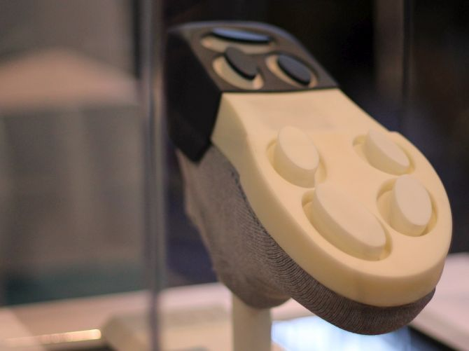 wahu adaptive sole wearable technology that adapts to the terrain