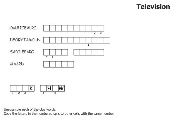 Discovery Education Puzzlemaker создать двойную головоломку
