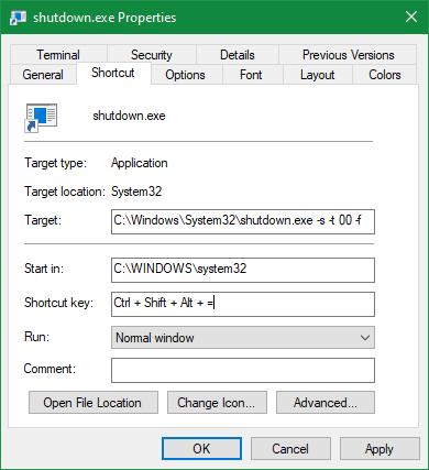 Windows Shortcut Key