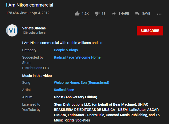 How To Identify Music And Songs In Youtube Videos
