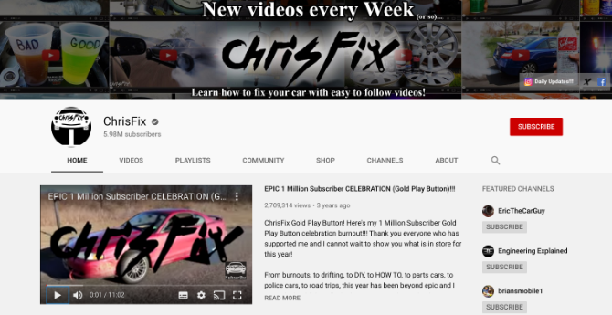 Save money on car repairs and DIY mechanical fixes by learning from ChrisFix on YouTube