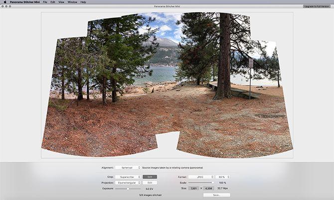 Panorama Mini Stitcher Сделайте Панораму