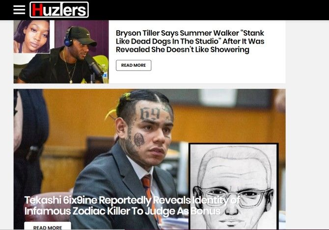 Huzlers Funny News Sites
