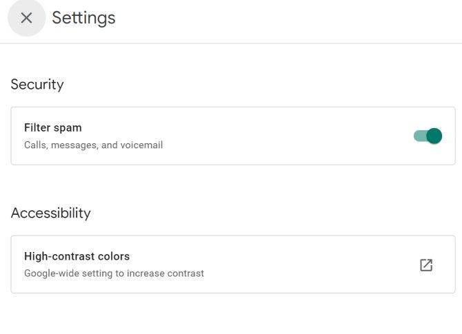 Спам-фильтр Google Voice