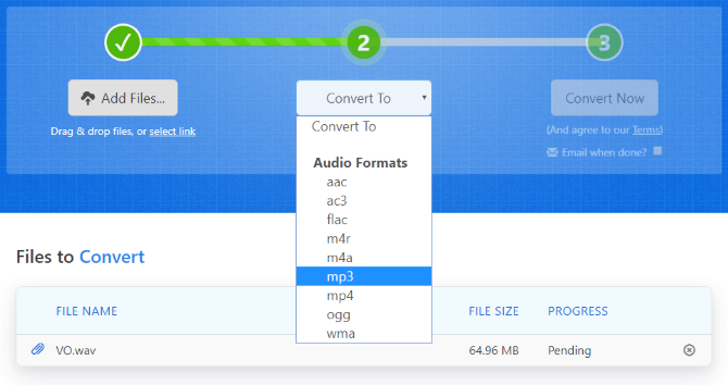 WAV file | Zamzar - Free online file conversion