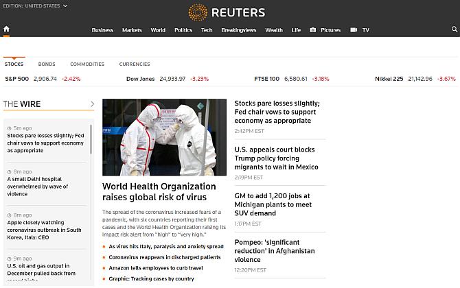 reuiters media bias