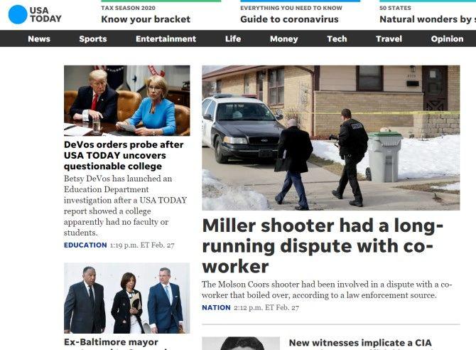 USA Today Sites Like The New York Times
