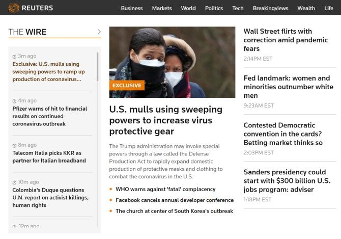 Reuters Sites Like The New York Times