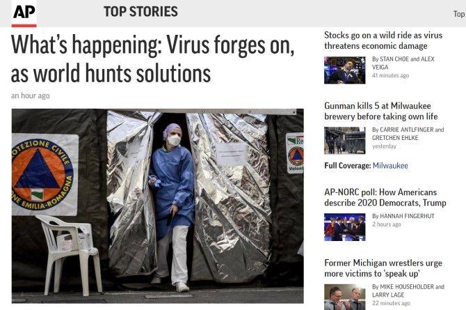 Associated Press News Sites Like The New York Times