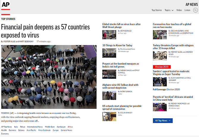 Associated Press unbiased news sources