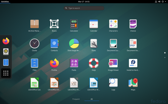 Fedora 32 beta