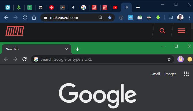 Chrome Two Profiles