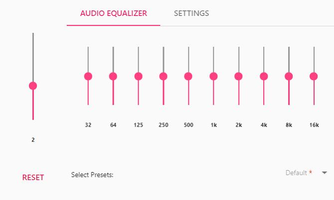 EQ Audio Equalizer хром